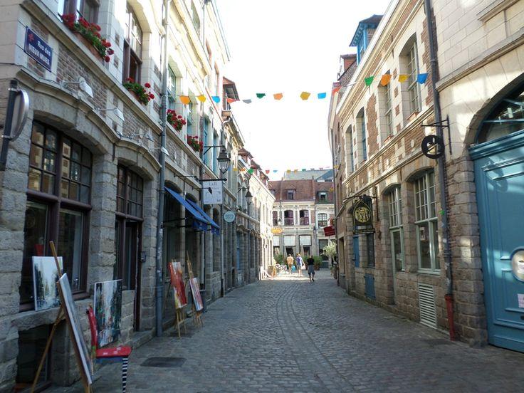Rue des Vieux Murs à Lille
