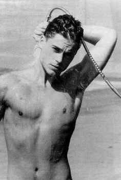 When he caught you looking at him showering in public. | 27 Flawless And Perfect Photos Of Young Rob Lowe