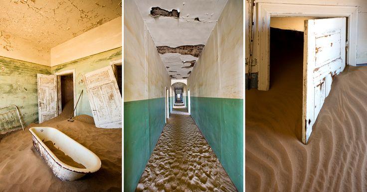 Visit Kolmanskop with Ker & Downey Africa http://ker-downeyafrica.com/blog/knowledge/kolmanskop-namibia-diamond-desert/
