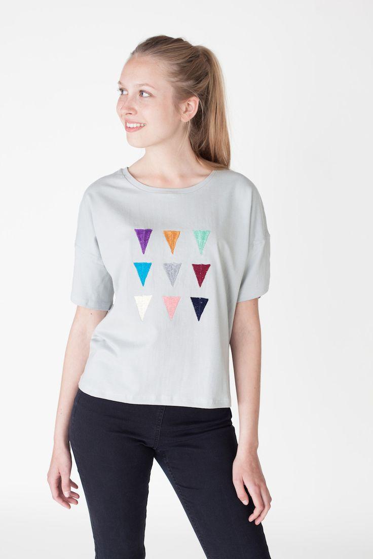 "Shirt ""Legende"" Skygrey | Jyoti - Fair Works"