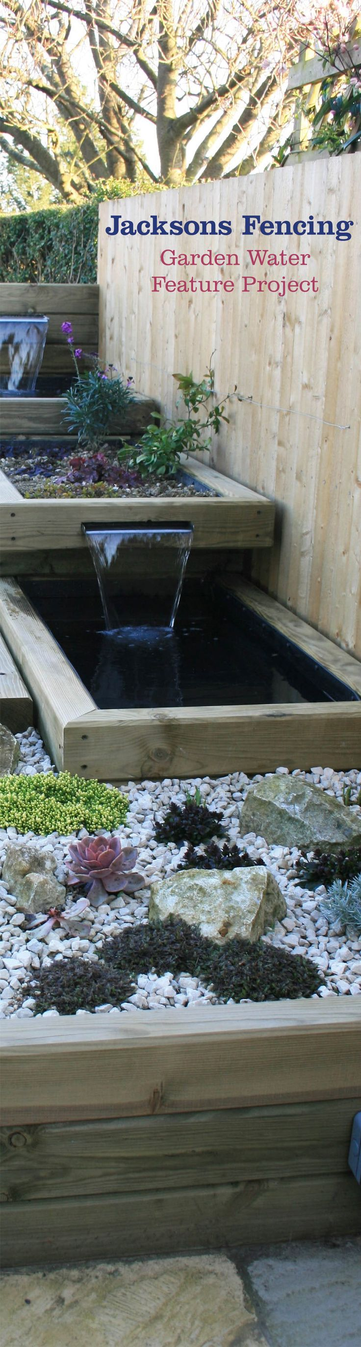 Vegetable garden plans for beginners ayanahouse - A Garden Water Feature Project Featuring Jakwall Timbers This Beautiful Landscape Design Is Perfect