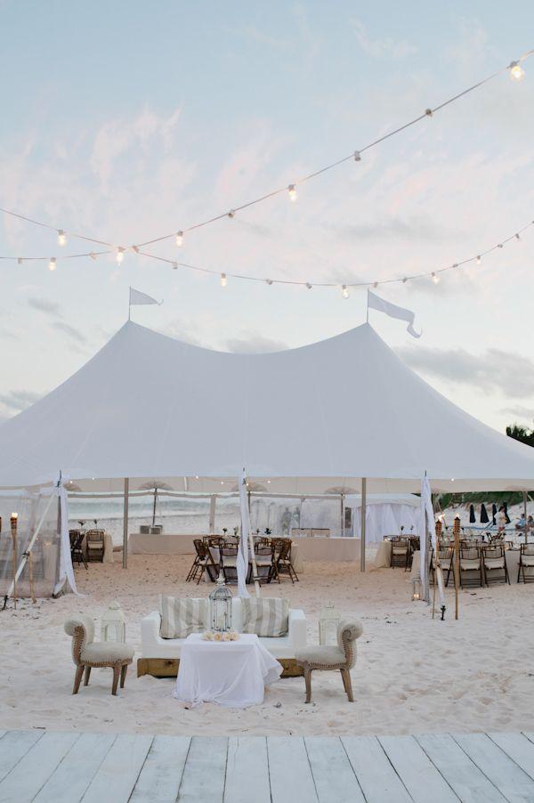 caribbean beach wedding reception at runaway hill inn http://www.weddingchicks.com/2013/10/04/caribbean-destination-wedding-2/