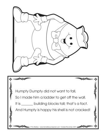 41 best humpty dumpty images on pinterest kindergarten abc humpty dumpty lesson plans the mailbox pronofoot35fo Image collections