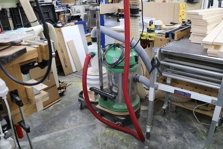 One Point Shop Vac Clean Up Woodworking Tools Equipment