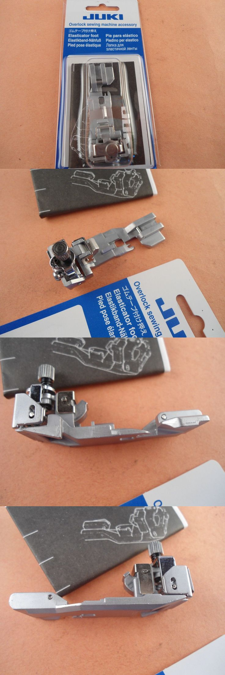 Sewing Machine Needles 41247: Genuine Elasticator Foot Juki Serger Overlock Mo-1000 Series -> BUY IT NOW ONLY: $49.95 on eBay!