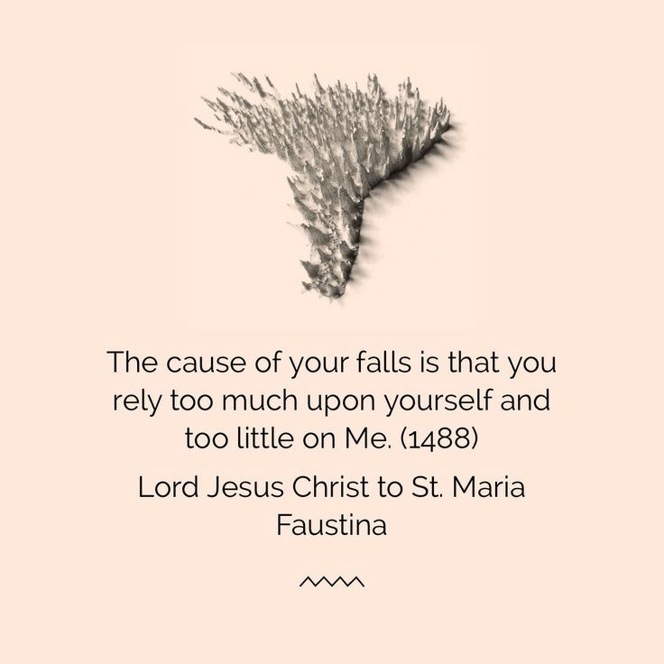 Lord Jesus Christ to St. Maria Faustina