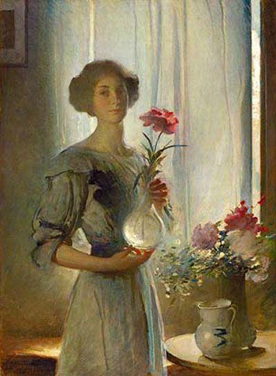 June by John White Alexander