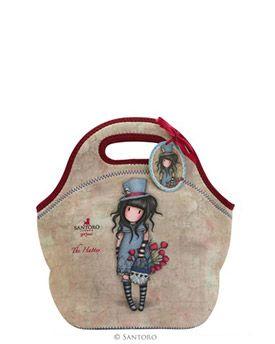 Gorjuss The Hatter Lunch Bag | Santoro London