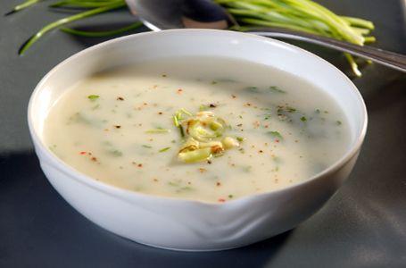 Σούπα με πράσα και πατάτες (Βισυσουάζ) - Συνταγές | γαστρονόμος
