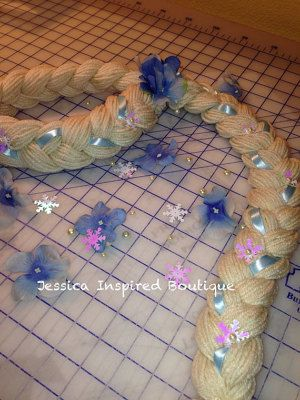 Disney Frozen Elsa Princess Braid Elsa Inspired by Theresafeller