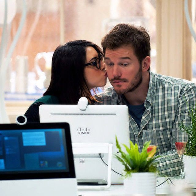 They're the cutest. Andy and April of Parks and Recreation