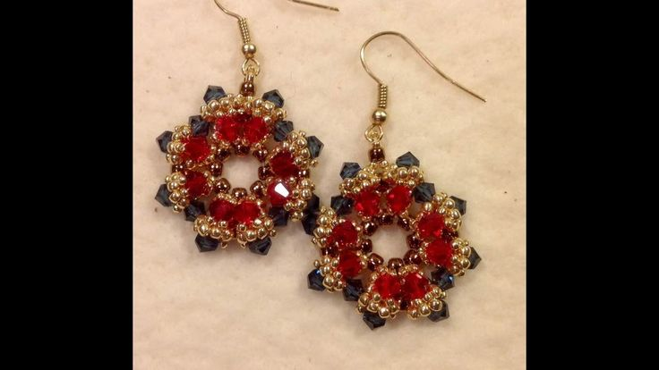 Best images about youtube beaded earring tutorials on