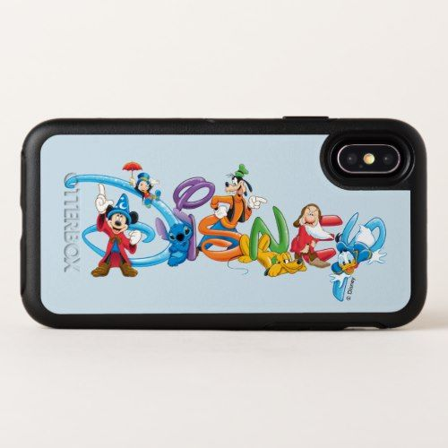 Disney Logo   Mickey and Friends OtterBox Symmetry iPhone X Case