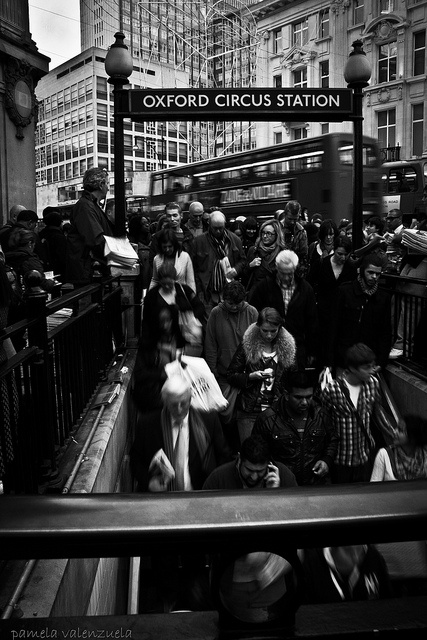 Oxford Circus Station by pameshit, via Flickr