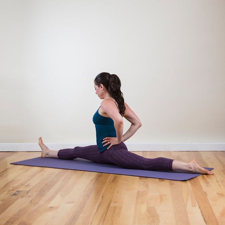 Go Splits! 9 Stretches to Get You There: If you too always wanted to do a split, you need flexible hips and hamstrings.