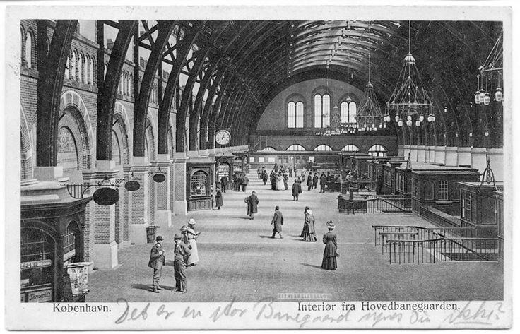 Hovedbanegaarden 1911