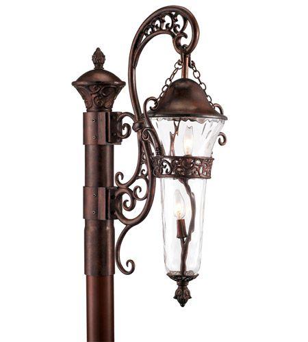 Kalco 9422BB Anastasia 2 Light 37 inch Burnished Bronze Outdoor Post Mount #LightingNewYork