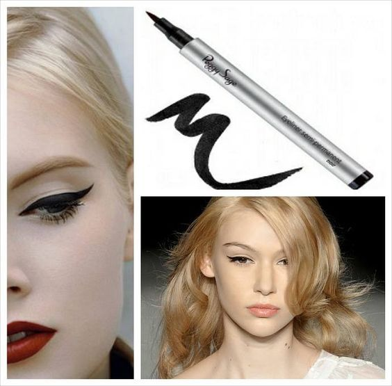 Για τα μάτια σας μόνο....Peggy Sage Semi-Permanent felt tip eyeliner blacκ Ιμιανεξίτηλο Eyeliner μαρκαδόρος. Μακιγιάζ που κρατάει όλη μέρα και κάνει το βλέμμα μας έντονο και θελκτικό!!!