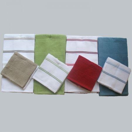 Kitchen Towels Towel Sets amp Dish Cloths  Bed Bath amp Beyond