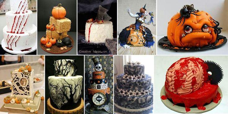 Halloween cake designs