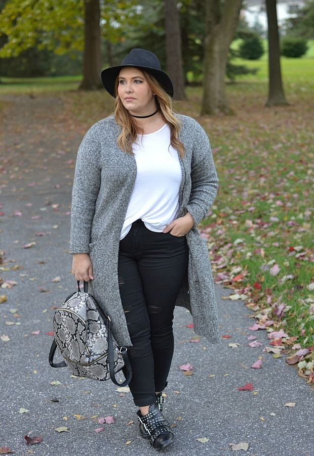 a703a0013965 25 casual plus size winter outfits you have to try - Page 4 of 25 ...