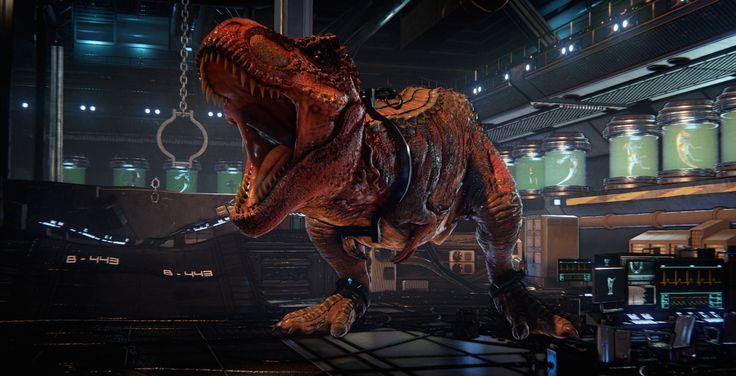 primal carnage | Primal Carnage: Extinction Sony Reveal