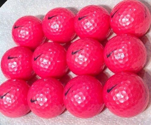 13 Nike PD Women Pink Golf Balls