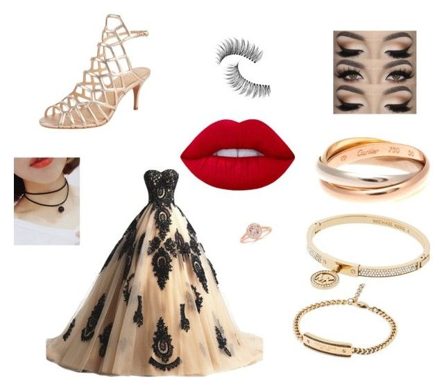 """""""Untitled #2"""" by xcon27x on Polyvore featuring Lime Crime, Trish McEvoy, Michael Kors, Cartier and Vince Camuto"""