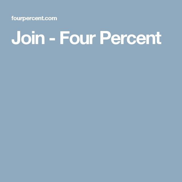 Join - Four Percent
