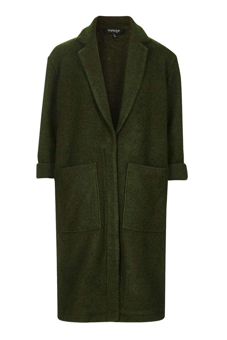 Wool Duster Jacket - New In This Week - New In - Topshop