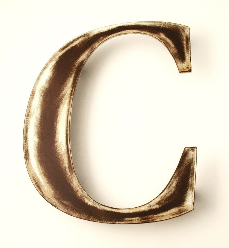Metal Letter B Wall Decor : Best images about metal letters symbols on
