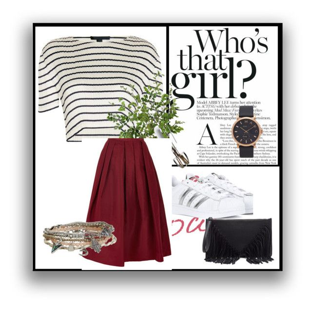 hhh by marta-theresa-serafin on Polyvore featuring moda, Alexander Wang, TIBI, adidas, Sole Society, Aéropostale, Marc Jacobs, Chanel and Diane James