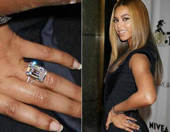 Los anillos de compromiso más espectaculares de las celebridades