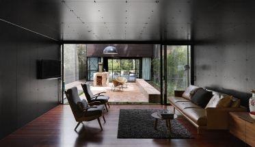 room receives little natural light making it dark