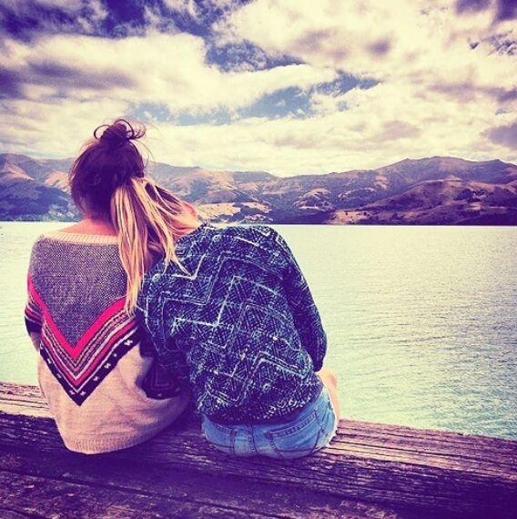 quiero cada momento asi junto a ellas y comernos el mundo juntas ♥ ♥ ♥ ♥ ♥  ♥