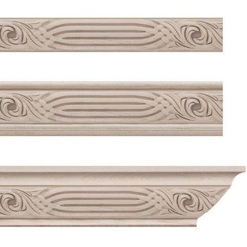 17 best molding and trim images on pinterest castle for Miterless crown moulding