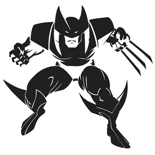 Wolverine Laptop Car Truck Vinyl Decal Window Sticker PV346