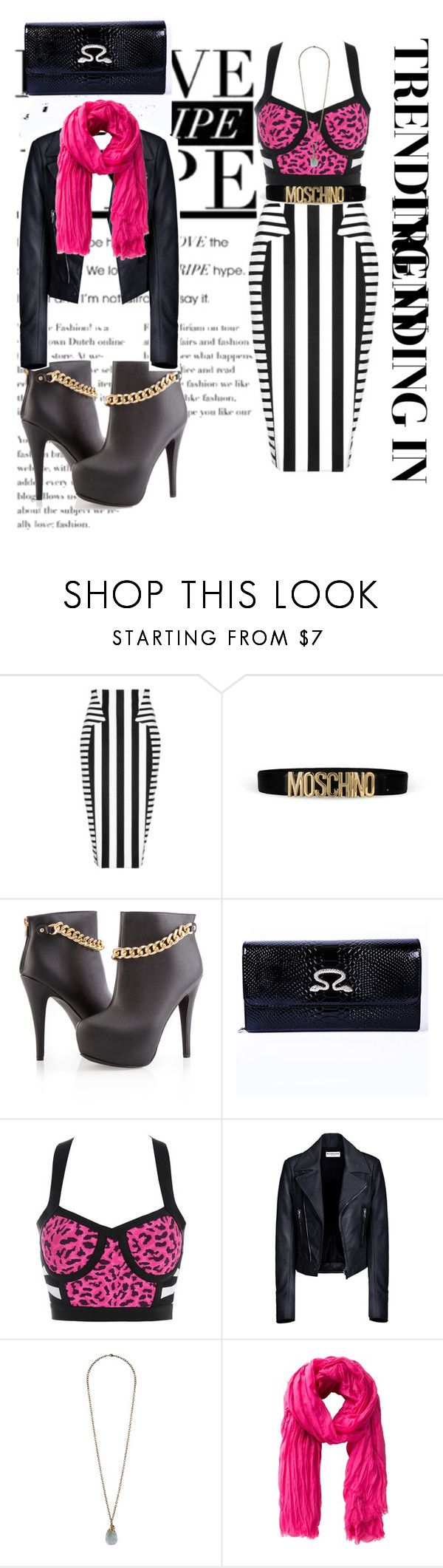 """Wild"" by msgoodgirl92 ❤ liked on Polyvore featuring Cushnie Et Ochs, Moschino, Ashley Stewart, Posh Girl, Balenciaga, Forever 21 and MANGO"