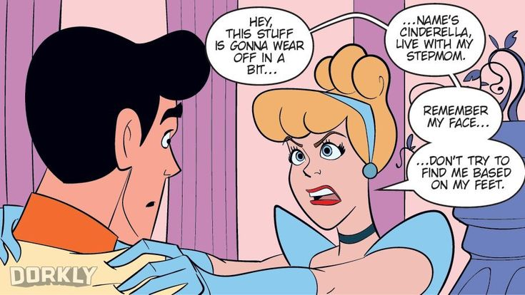 The Little Mermaid can't speak. Cinderella's fate relies on a slipper. Aladdin has a genie, but doesn't quite wish away his problems.  Ever wonder what Disney films would look like if everything was