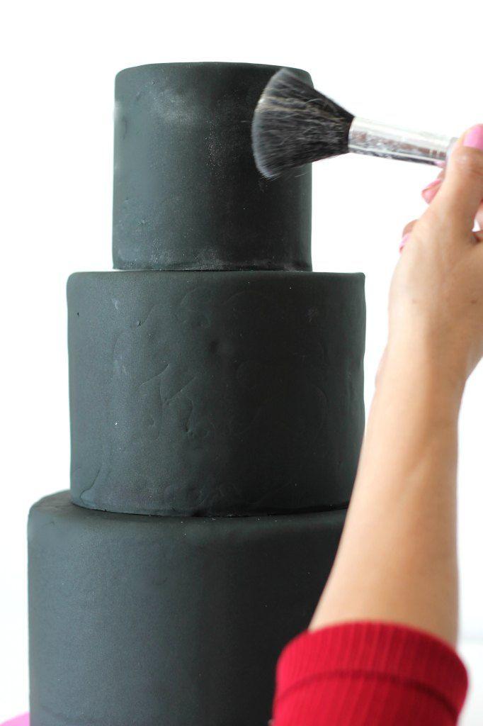 Chalkboard Cake Tutorial