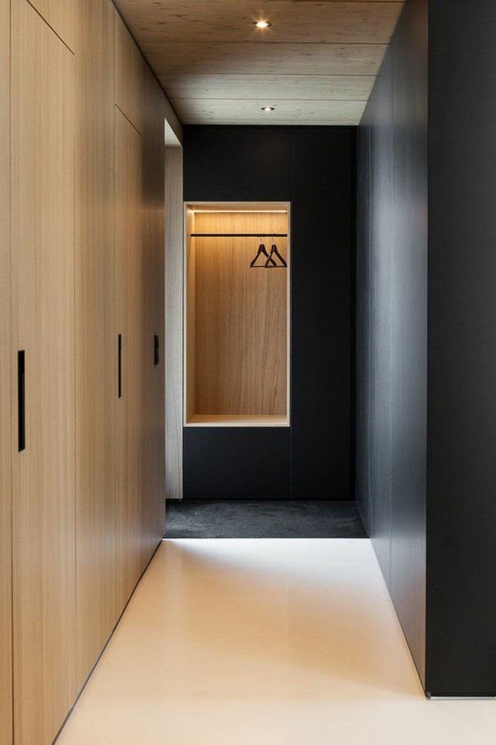 placard couloir plus de 130 photos pour vous id es pour la maison pinterest couloir. Black Bedroom Furniture Sets. Home Design Ideas