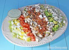 Американский кобб салат - Mom Story