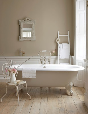 Drummonds Bathrooms: Little Greene Paint Company - Drummonds Cast Iron Bath