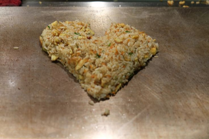 Fried Rice on Teppanyaki
