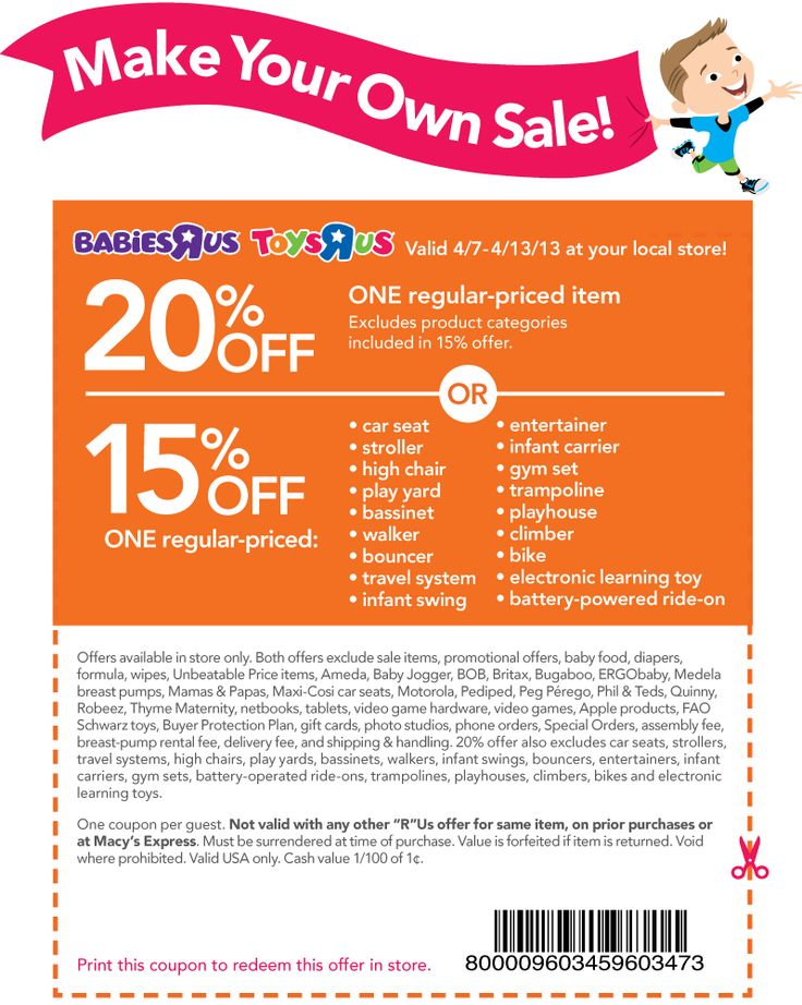 picture about Baby R Us Coupons Printable named Toys us discount codes printable / Valentines working day coupon items