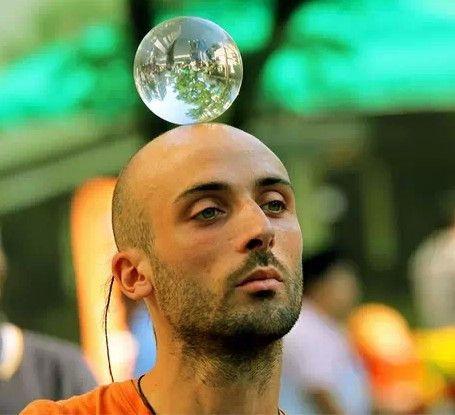 Contact Juggling Ball Street Magic Tricks Material Resin Size 70 Centimeter Weight 226 Gram