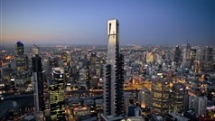 Teeter on The Edge, a switchable glass cube that slides you out from the building's 88th floor for unsurpassed views of Melbourne and far beyond.
