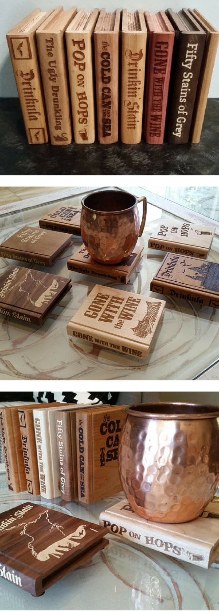 extraordinary inspiration drink coaster. Book Shape Coasters  you pick Set of 4 Drinking puns Coaster set 16 best wooden coaster holders images on Pinterest Wooden