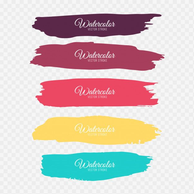 Download Colorful Brush Strokes For Free Paint Vector Brush