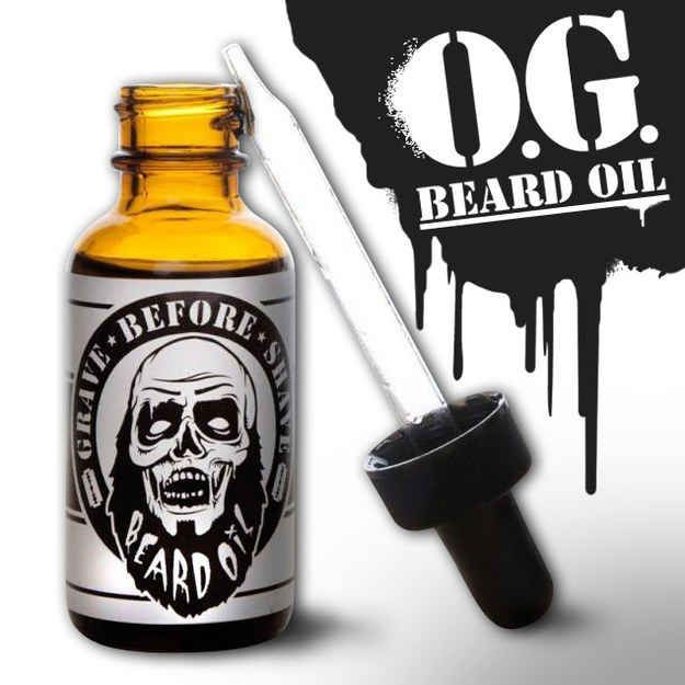 Grave Before Shave Beard Oil, $12 | 19 Men's Products To Up Your Grooming Game